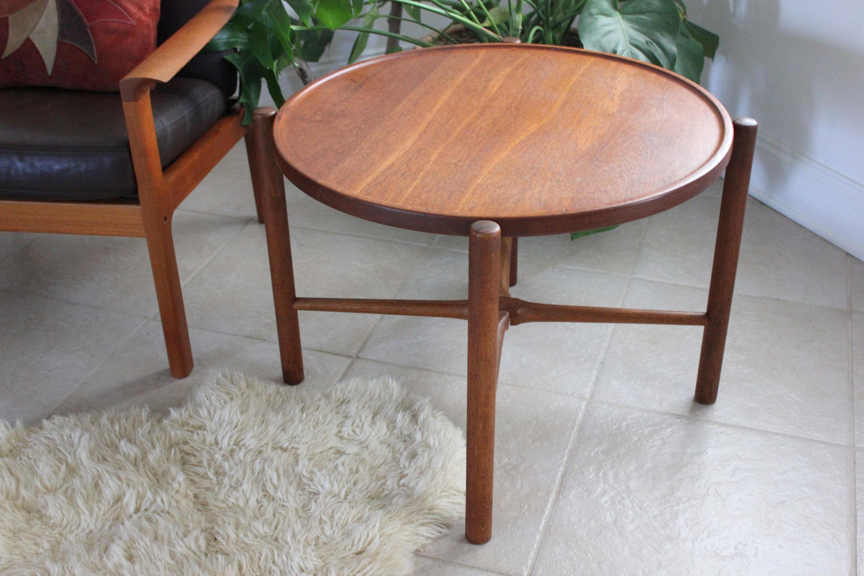 Hans Wegner Folding Tray Table Model AT35 For Andreas Tuck Danish Modern  Collector Piece