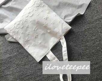 Laced Canvas Tote