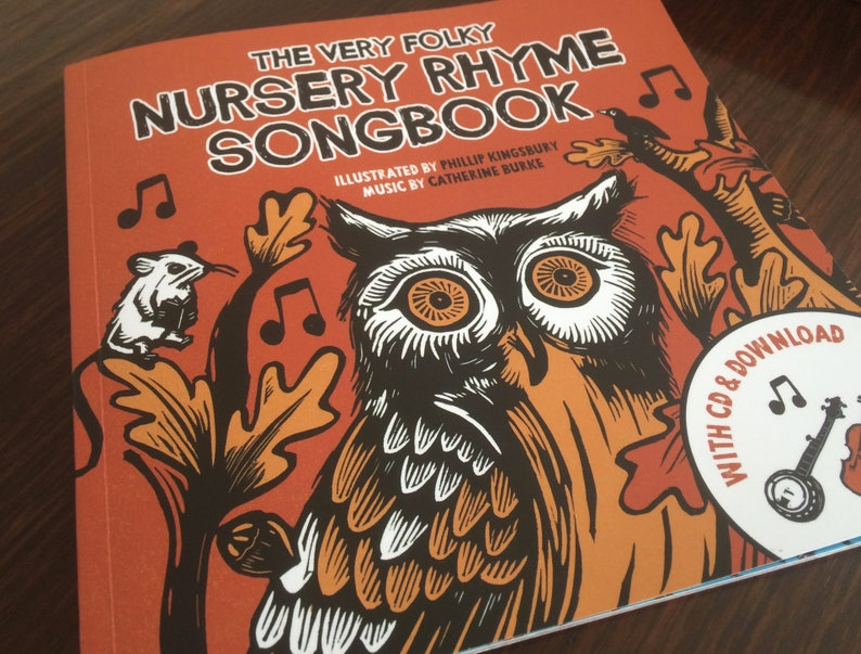 The Very Folky Nursery Rhyme Songbook and CD image 0