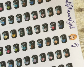 Coffee Maker Planner Stickers
