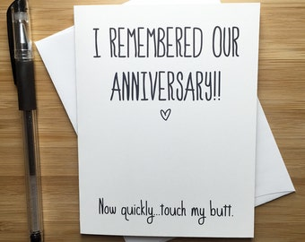 Anniversary Card, Cute Love Card, Love Greeting Cards, Greeting Card, Romantic Card, I Love You, For Husband, For Wife, Happy Anniversary