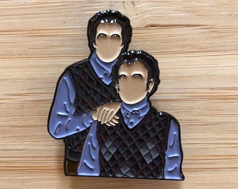 Funny Step Bros Lapel Pin, Soft Enamel Pin, Pin Sale, Jewelry Pins,Pin Art, Pins and Badges, Movie Nerd, Movie Pins, Pop Culture Pin