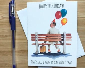 Funny Tom Hanks Birthday Card, Funny Birthday Card, Cute Birthday Gift, Happy Birthday, Birthday Card for Best Friend, Birthday Him