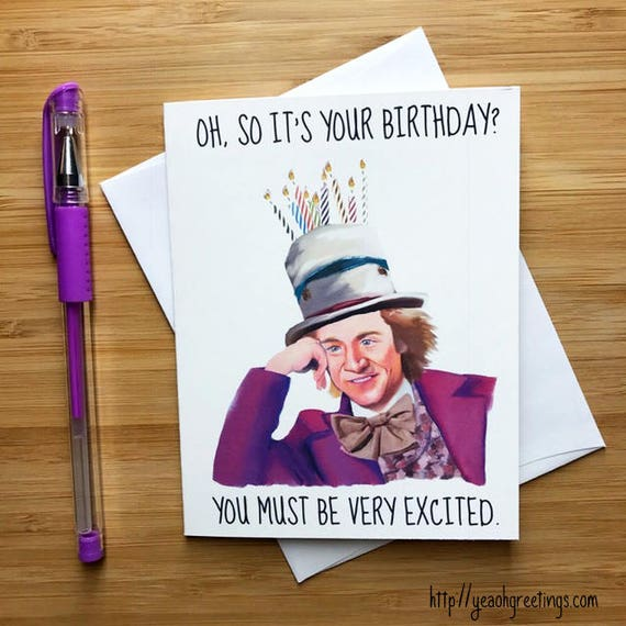 Internet Meme Birthday Card Funny Printable