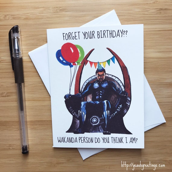 Funny 'Forget your birthday?' Superhero Card. Comic Book Birthday, Superhero Birthday Invite, Africa American Art, Comic Nerds, Comic Movie