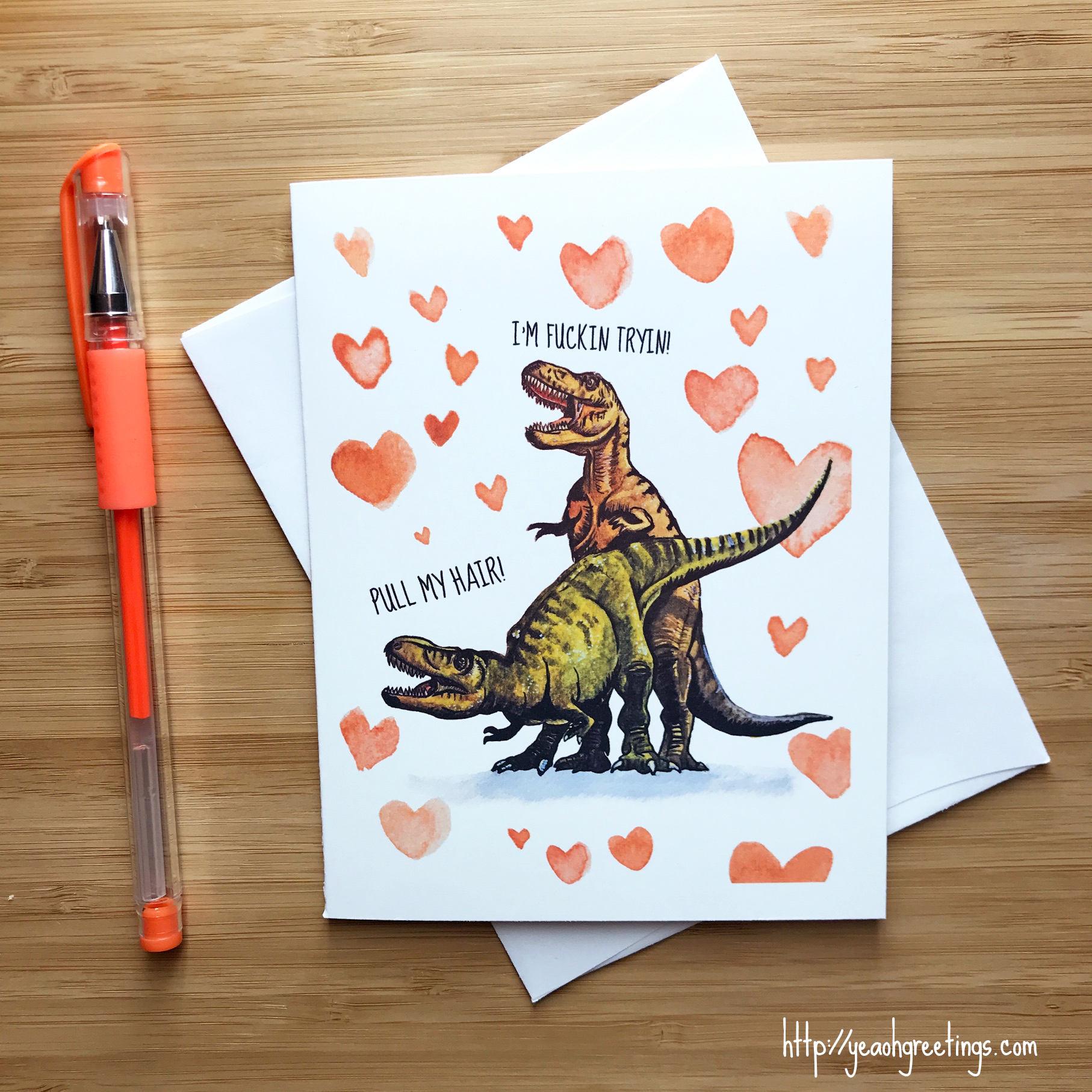 Для, динозавр открытка своими руками