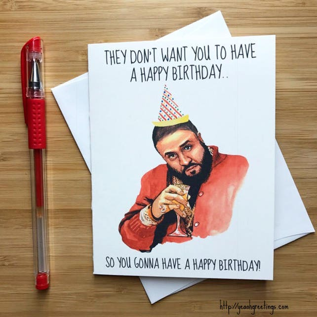 Funny They Dont Want You Birthday Card Hip Hop Happy