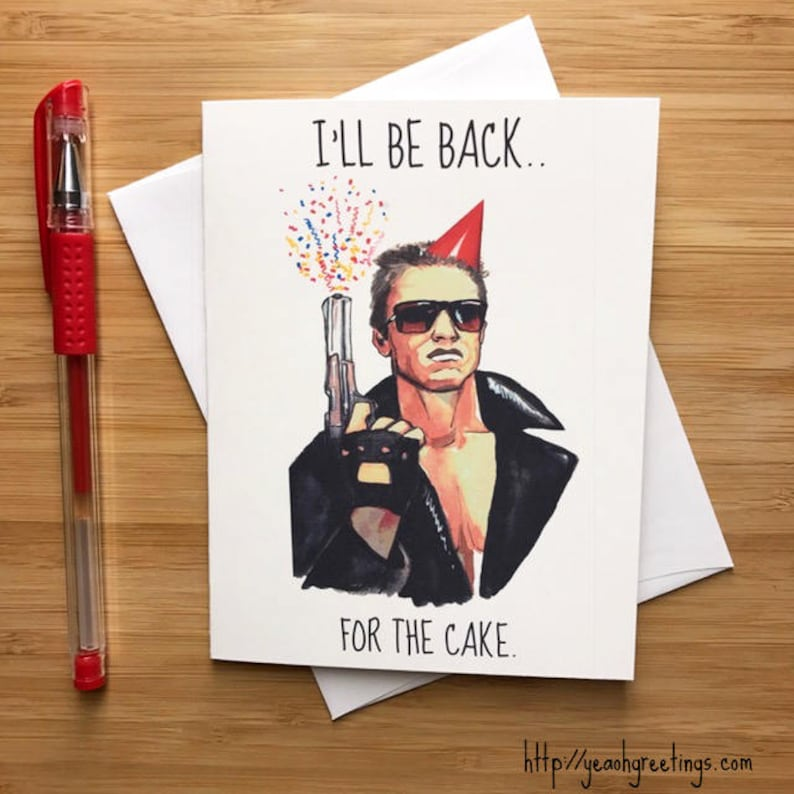 Funny Arnold Birthday Card 90s Movies Pop Culture Nerd Nerd Etsy