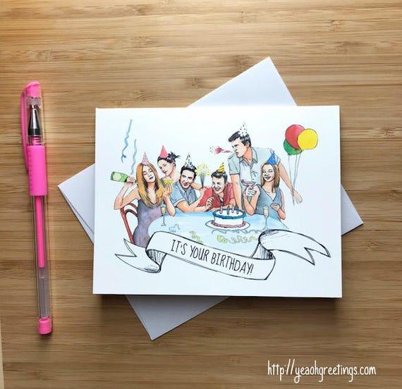 23 Unusually Creative And Adorable Diy Birthday Gift Ideas: Cute 1990s Friend Birthday Card Happy Birthday Card