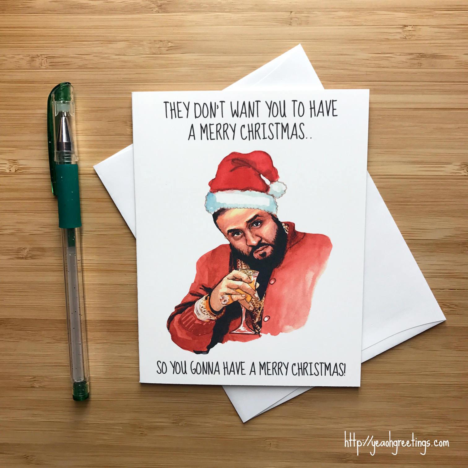 Hip Hop Christmas Card Rap Music Christmas Gift Christmas | Etsy