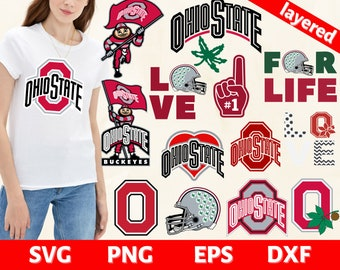 My Blood Type is O Positive Sublimation Red and Black Team Spirit Glitter Print PNG Design Teacher Buckeye Leaf Back to School