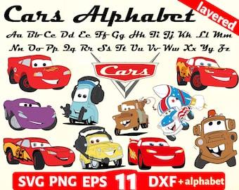 cars cut file cars clipart mater svg cars cricut cars silhouette cars svg luigi svg
