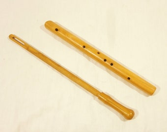 Choroi Flute / Recorder / Pentatonic Wooden Flute in D - ideal for Waldorf schools