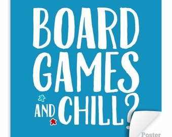 board game art etsy