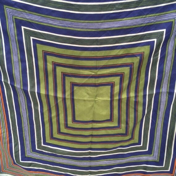 1970's /1980's Yves Saint Laurent Silk Scarf - image 4