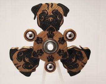 Pug Fidget Spinner