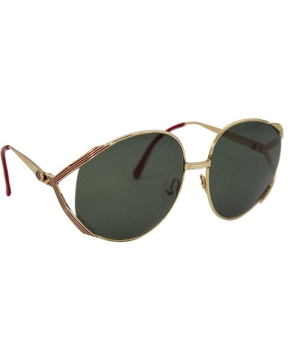 1980s Christian Dior Oversized Sunglasses