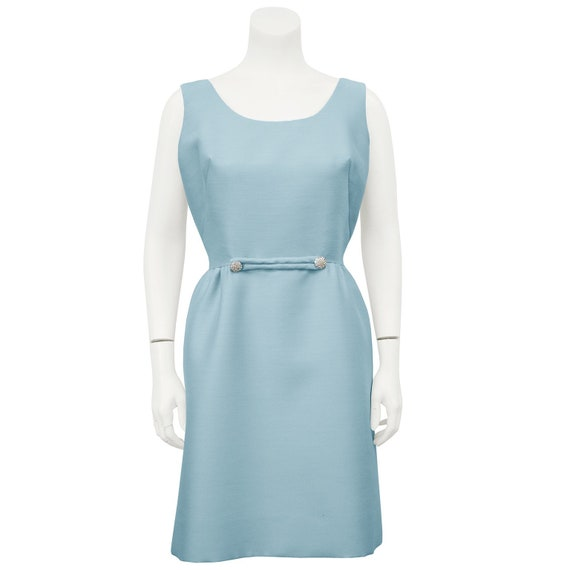 Original Junior Theme Ice Blue Cocktail Dress