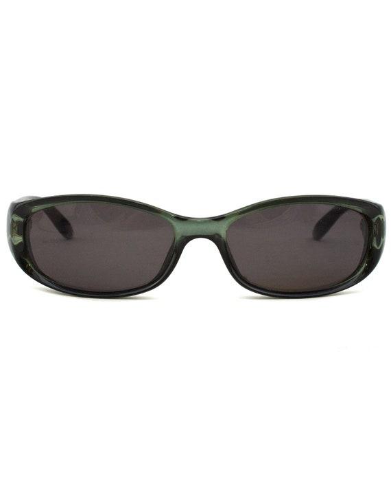 1990s Gucci Green Sunglasses - image 2