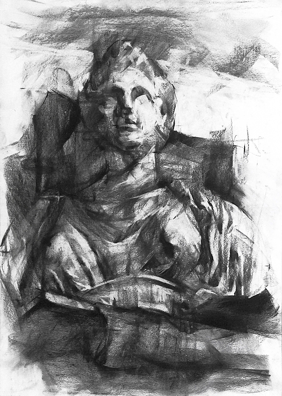 Oeuvre grecque dessin grec la mythologie grecque art de etsy - Dessin mythologie ...