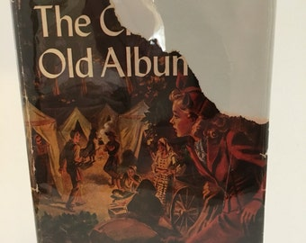 The Clue in the Old Album, 1950s Nancy Drew, Carolyn Keene, Russell H Tandy,  Nancy Drew 25, Nancy Drew mystery stories, Grosset and Dunlap