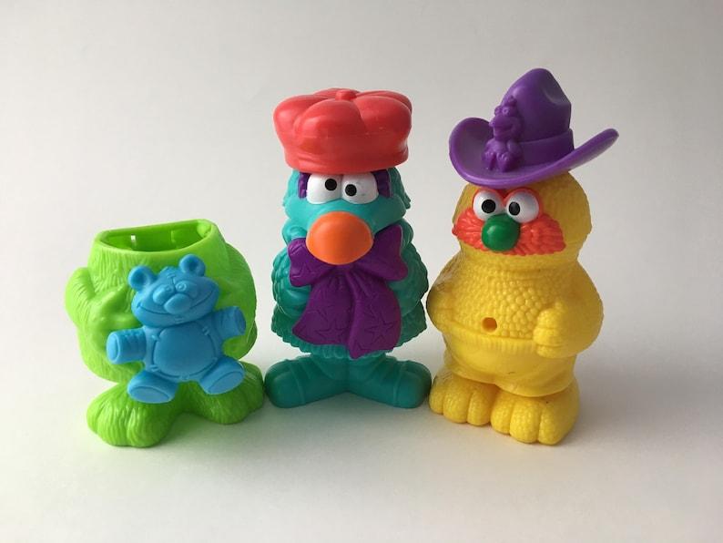 Vintage Jim Henson Muppet Workshop McDonalds toys, 1994 Muppet Workshop,  90s McDonalds toys, 1994 McDonalds toy, jim henson toy, muppet toy