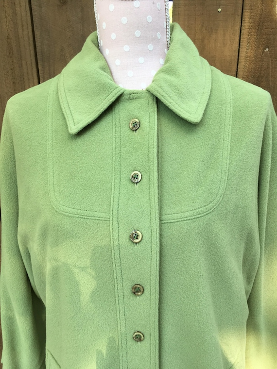 Vintage Kashmiracle M green coat, Kashmiracle long