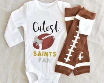 8f1061d8 Saints baby | Etsy