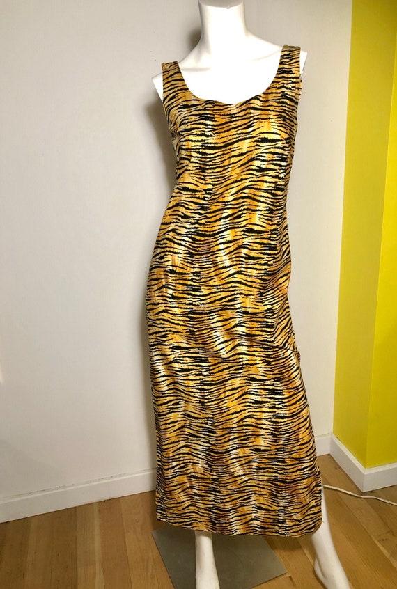 TIGER cotton TIKI Long Dress