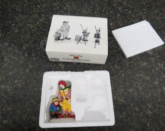 Dept. 56 Snow Village Ronald McDonald Figurine