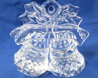 3 Waterford Crystal Christmas Ornaments