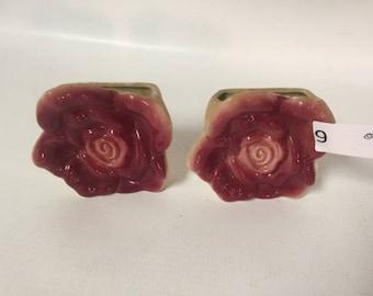 Rose Wall Pockets