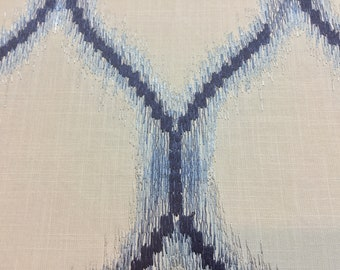 """1.25 Yards x 54"""" Embroidered Home Decorator Fabric"""