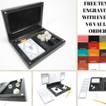 The Player's Vault V6, Accessory Holder, Dice, Dice Box, Dice Case, Dice Tray, DND, D20, Dungeons and Dragons, RPG, Pathfinder, Miniatures