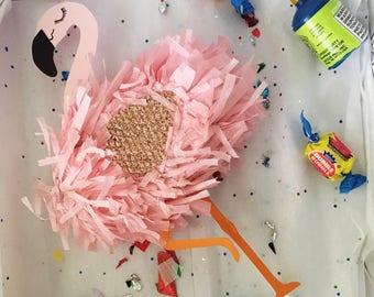 Flamingo cake topper!