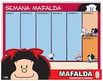 Planificador Semanal Mafalda