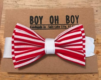 Infant / toddler  classic Velcro bow tie