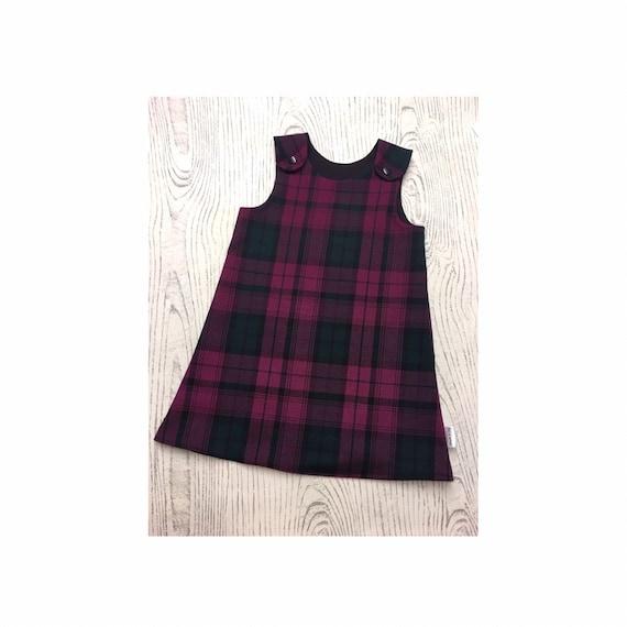 good out x newest cheapest price Tartan Pinafore Dress Vintage Tartan Dress Scotland Girls Pinafore  Christmas Dress Girls Pinafore Dress Red Tartan Pinafore Baby Dress