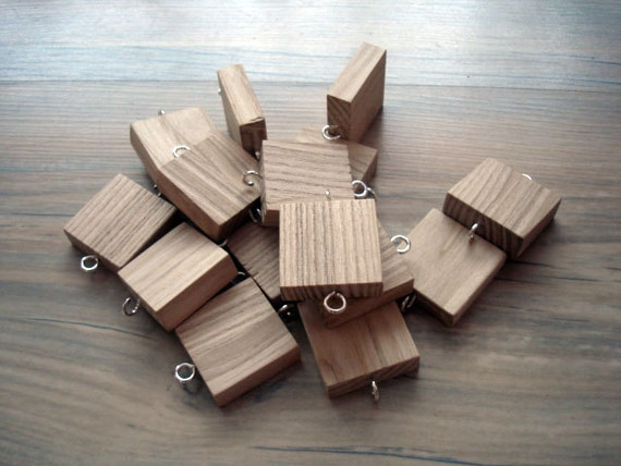 Additional 5 Wooden Heart Shape Tags For Birthday Board