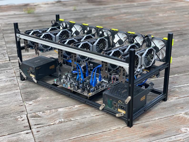 RTX 2080/2080ti/etc 8 GPU Mining Rig - new hardware designed for massive  hashing power - custom built for mining Altcoins