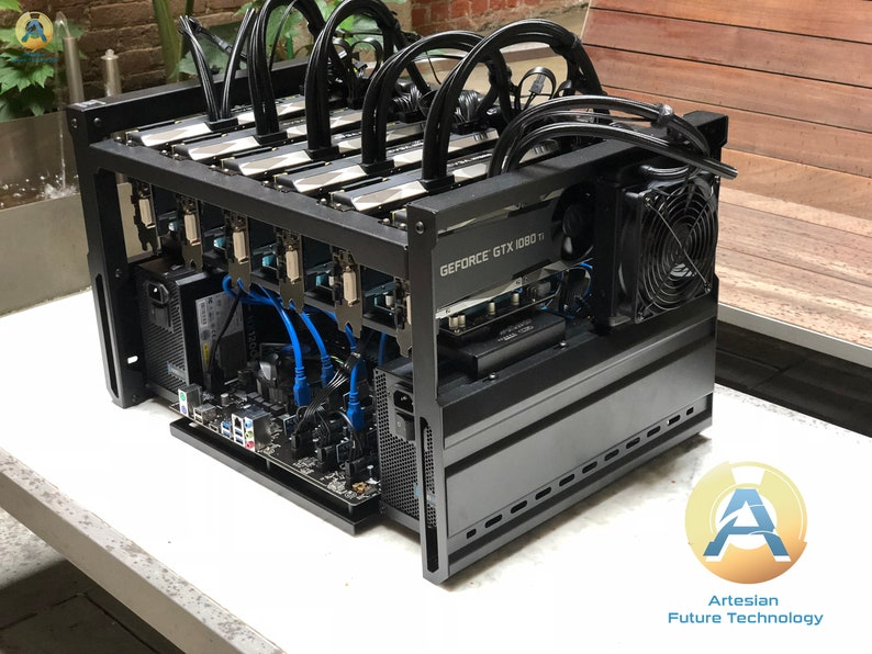 6GPU RTX 2060/2070/2080 Mining Rig - small form factor, designed for  altcoins & space efficiency  Downsize + power up!