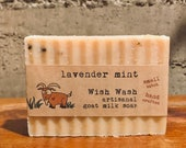 Lavender Mint Goat Milk Soap