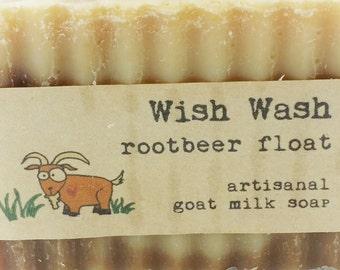 RootBeer Float Goat Milk Soap
