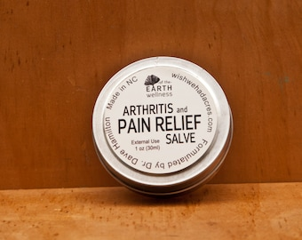 Arthritis and Pain Relief Salve - All Natural