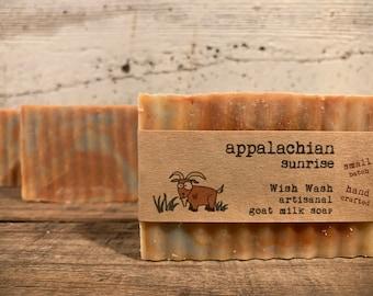 Appalachian Sunrise Goat Milk Soap