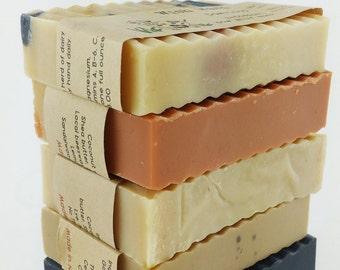 5 bars - Half Batch Goat Milk Soap