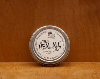 Green Heal All Salve - All Natural