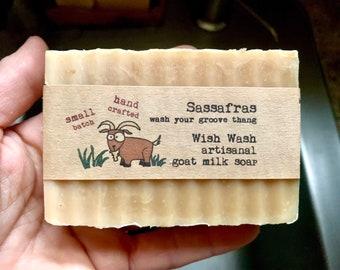 Sassafras Goat Milk Soap