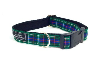 Rose Tartan Collar,Scottish clans, plaids, dogs, pets, tartan ribbon