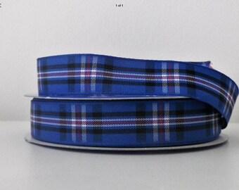 Rangers Tartan Lead, Scottish Football Club , plaids, dogs, pets, tartan ribbon